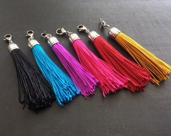 Interchangeable tassel for Zoe Teacakes bag (available in 6 versions)