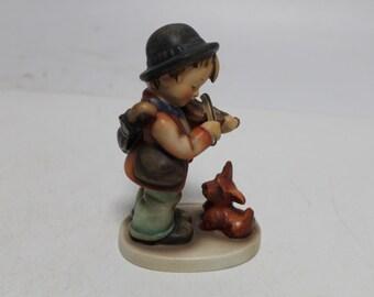 Vintage Old Hummel Goebels Charming Boy Figurine