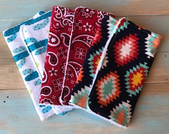 Southwest Boutique Burp Cloth Bundle