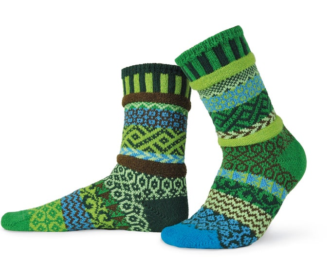 Solmate Socks - Earth Crew - Adult Small