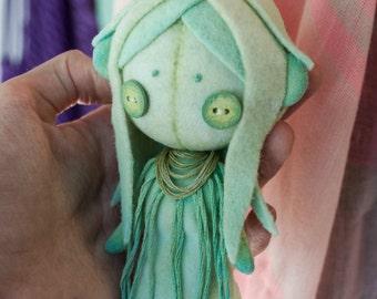 human doll pattern / small doll pattern / human plushie pattern / human sewing pattern / button-eyed doll pattern