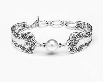 "Spoon Bracelet: ""Lady Helen"" by Silver Spoon Jewelry"