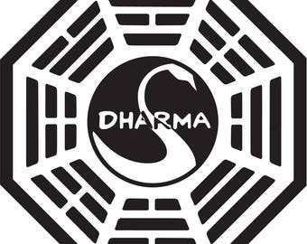 Dharma Initiative from Lost Vinyl Decal Sticker
