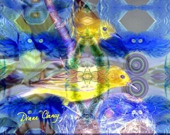 Nature Reflections I - Fine Art Card