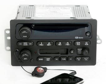Chevy Gmc 01 To 03 Truck Radio Cd Player W Aux Input S10