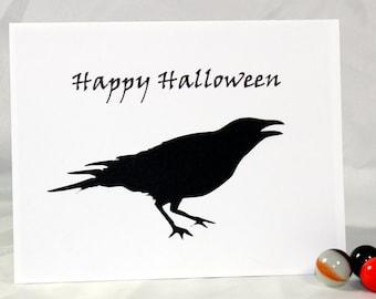 Note Card - Halloween Crow