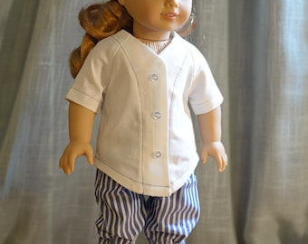18 inch doll clothes - Baseball Outfit
