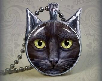 BLK5 Black Cat pendant
