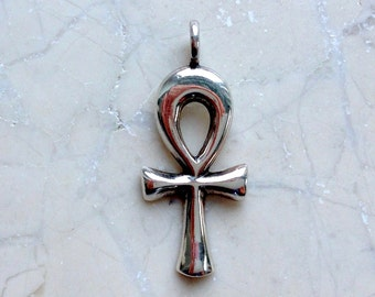Ankh Pendant Sterling Silver