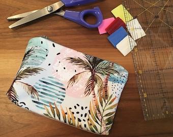Tropical make up bag