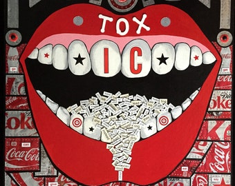 TOXIC - Taste Your Words B 4 You Spit Them Out