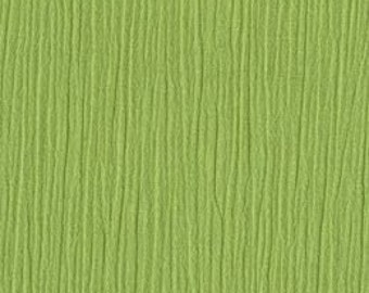 Robert Kaufman Kona Cotton Crepe Gauze Celery