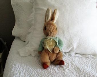 Adorable Beatrix Potter Peter Rabbit Stuffed Animal Vintage