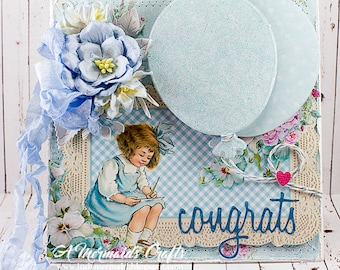 New Baby /Young Child Congrats Greeting Card