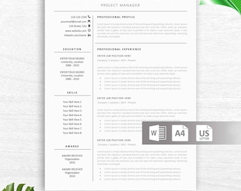 resume teacher template