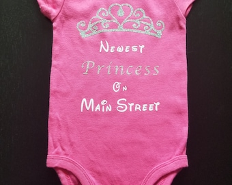 Newest Princess on Main Street