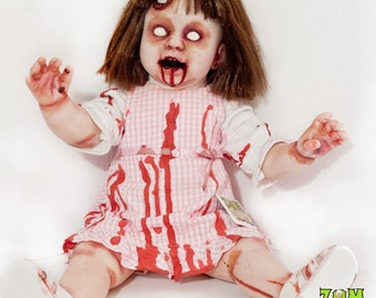 SALE! Baby Rots-a-Lot: zombie toddler 19-inch doll - limited time only!