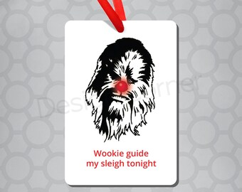 Chewbacca Star Wars Magnet & Ornament