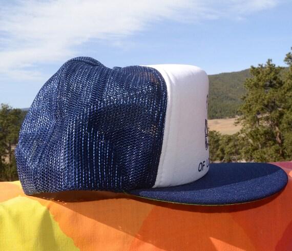 cf4949d03f527 ... closeout 80s vintage trucker mesh hat pwoa tow truck wrecker long  island snapback baseball cap rockstar ...