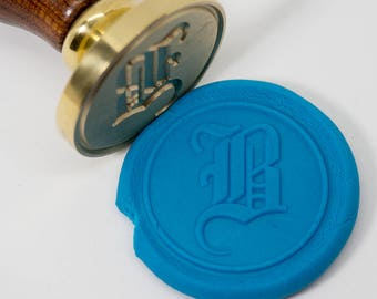 Wax Seal Stamp Set   Gothic Font Series 2   Letter initial stamp   Old English Font   Old School   Gift Idea   Gift Wrap   Invitation Card