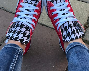 Houndstooth Converse Chuck Taylor Shoes