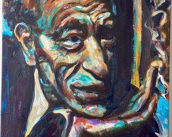Portrait of Alberto Giacometti