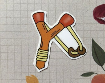Legend of Zelda Slinshot Sticker