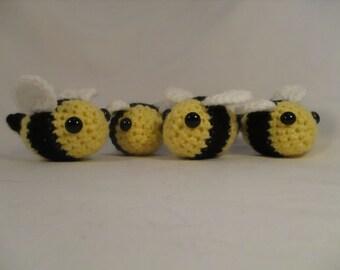 Bumblebee bundle crochet bees
