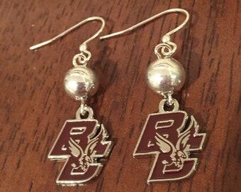 Boston College Earrings