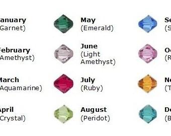 Swarovski Birthstone Crystal Add-On