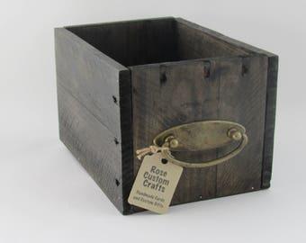 Rustic Storage Box