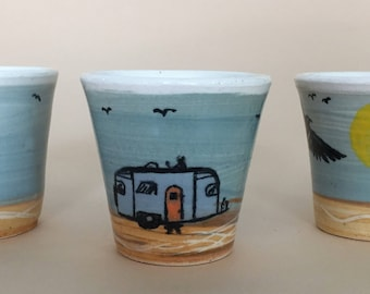 Tiny Travel Trailer Cups