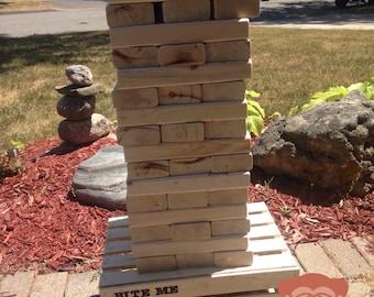 Jumbo GIANT stacking blocks 2x4