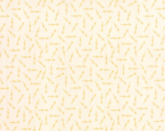 Bright Sun Arrow Bisque Goldenrod by A Quilting Life Sherri for Moda 37506 12 - low volume quilt fabric