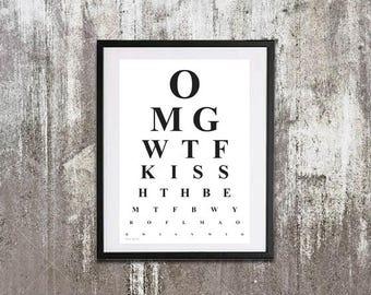 OMG Optician Illustration