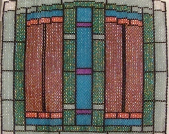 Stained Glass weaving