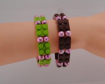 Flat LEGO Plate Bracelet