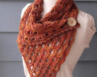 PATTERN C-003 / Crochet Pattern / Izzy Cowl ... worsted 200 yds