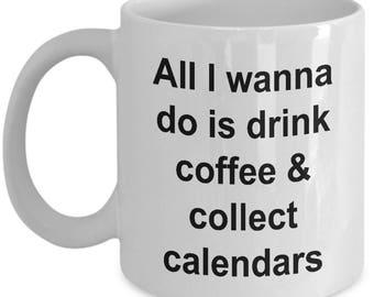 Coffee and Calendars Mug