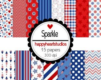 Digital Scrapbooking Sparkle-INSTANT DOWNLOAD