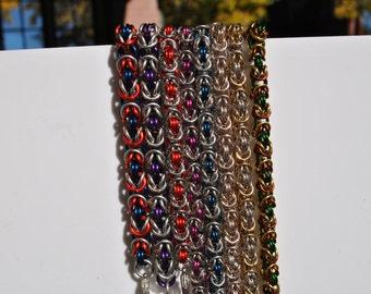 Byzantine Style Chainmaille Bracelet
