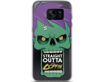Zomboy Samsung Phone Case - Zombie Straight Outta The Coffin