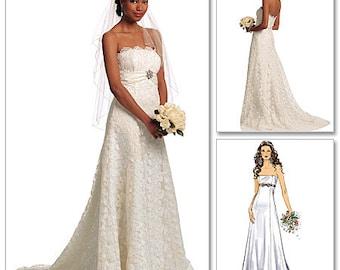 Butterick Pattern B5325 Misses' Wedding Dress