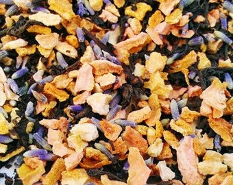 Assam Lemon Lavender Tea - Certified Organic