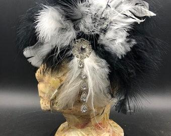 Handmade Flapper Head Piece