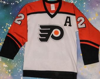 Detroit FLYERS #22 TOCCHET Hockey Sports Jersey Size S