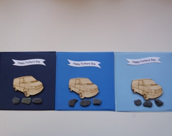 T4 Panel Van  - Handmade Father's Day Card (1 Card)