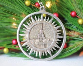 Phoenix Arizona Temple Christmas Ornament