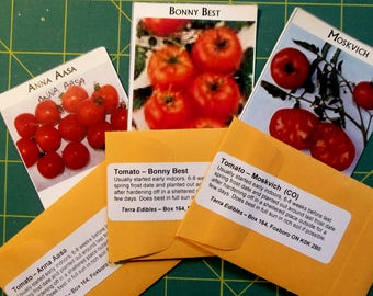 Heirloom Seeds - Red Tomato Trio