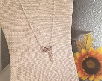 Infinity and Arrows Necklace